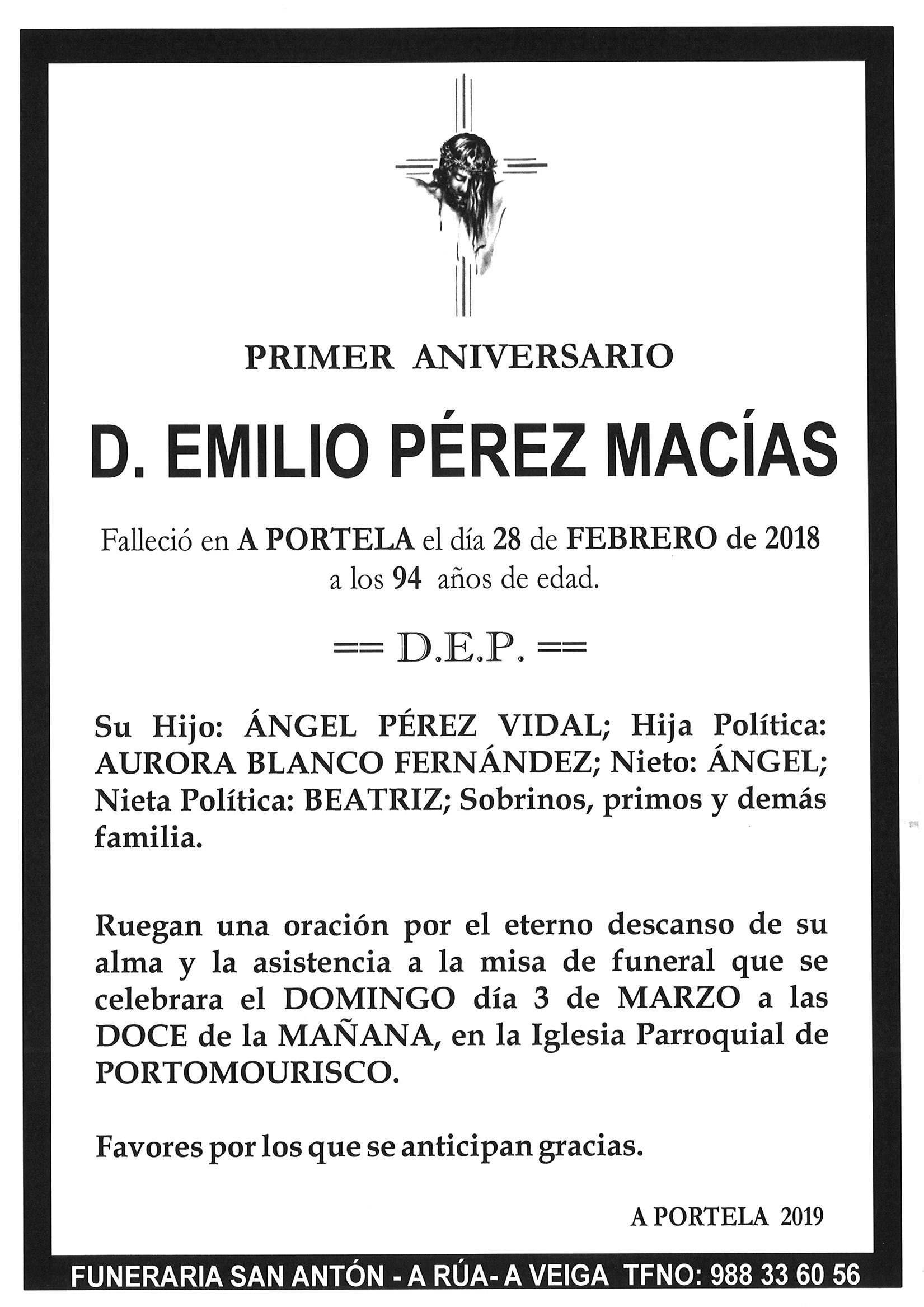 Funerales Tanatorio San Antón Listado